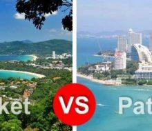Пхукет или Паттайя: где лучше отдыхать?