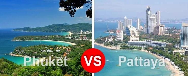 Phuket ili Pattaiya
