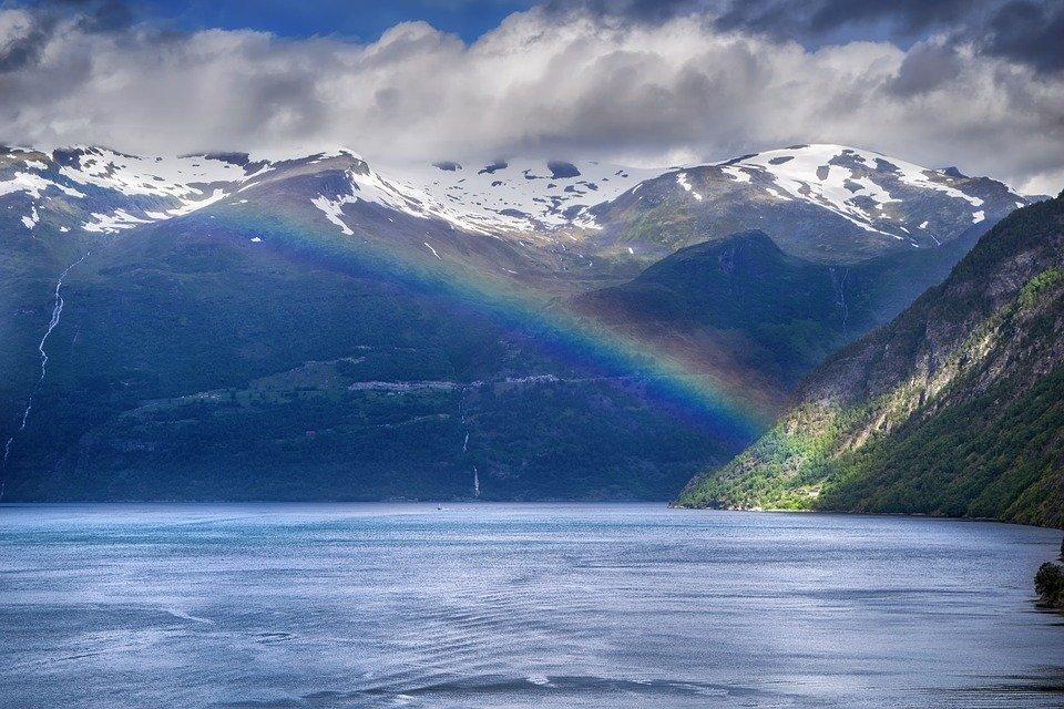 Норвегия Фьорды